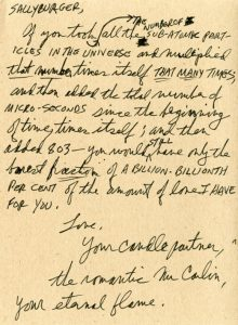sweet love letters george carlin letter