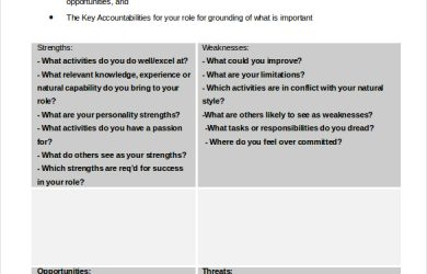 swot analysis worksheet personal swot analysis worksheet