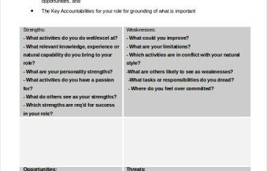 swot analysis worksheet personal swot analysis worksheet