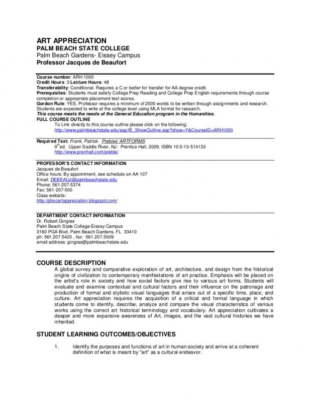 syllabus template high school