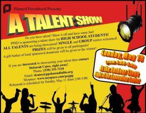 talent show flyer talent show flyer