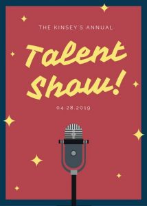 talent show flyer canva red illustrated microphone talent show flyer maccsqpsio