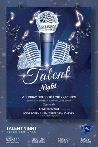 talent show flyer talent show flyer template
