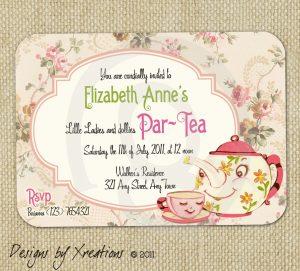 tea party invitation template il fullxfull