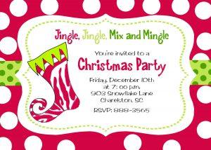 tea party invitation templates christmas gorgeous christmas party invitation ideas and jingle jingle mix and mingle