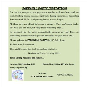 tea party invitation templates farewell invitation template pdf