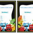 tea party invitation templates monsters university birthday invitation