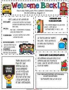 teacher newsletter templates dcccebeeefa newsletter format classroom newsletter template