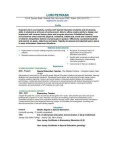 teacher resume template free free teacher resume template