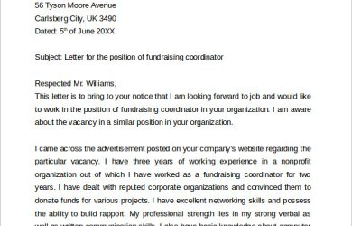 teacher resume template word fundraising job cover letter