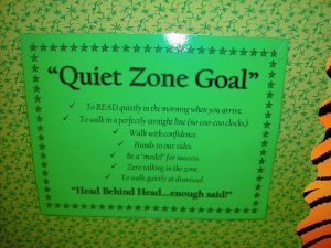 team meeting agendas mac quiet zone goal
