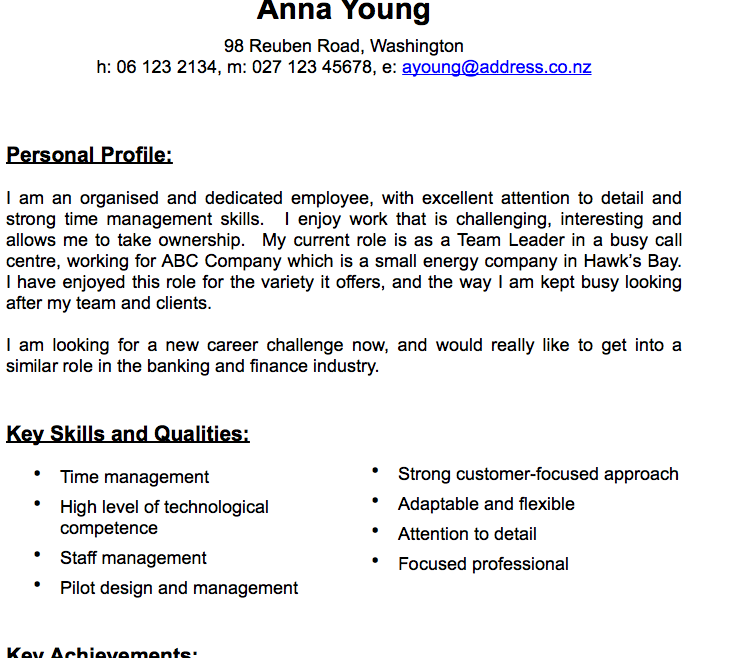 teen resume template