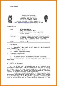 termination letter example investigative report example investigation report cb