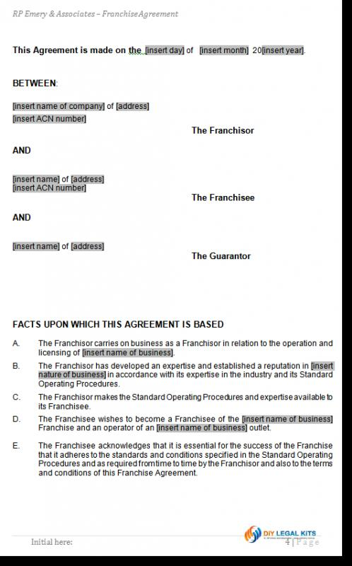 termination of lease agreement