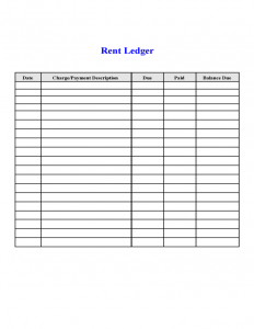termination of lease letter rental ledger l