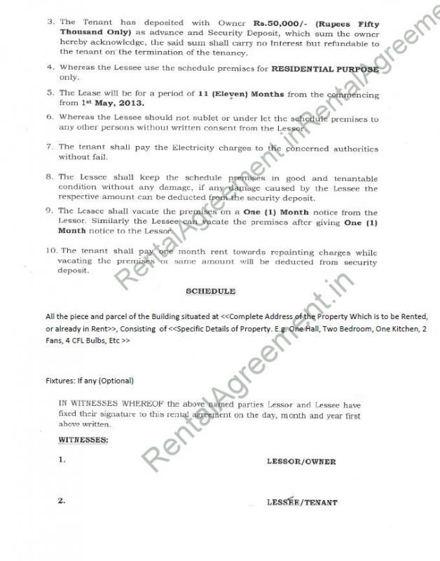 termination of lease letter