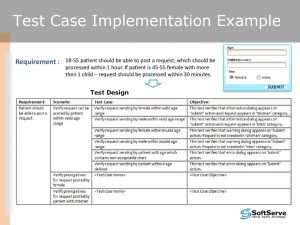 test case template excel slide