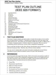 test plan example sample software testplan template