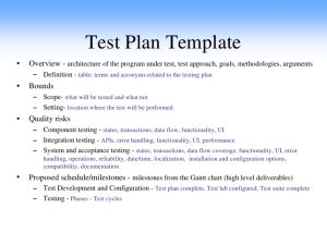 test plan example sw software qa testing