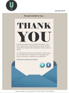 thank you for your business email thank you business email template marketing
