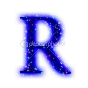 thank you letter business christmas font alphabet letter r stock photo vitaly