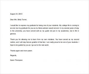 Thank you letter to teacher template business thank you letter to teacher sample thank you letter to a teacher altavistaventures Choice Image