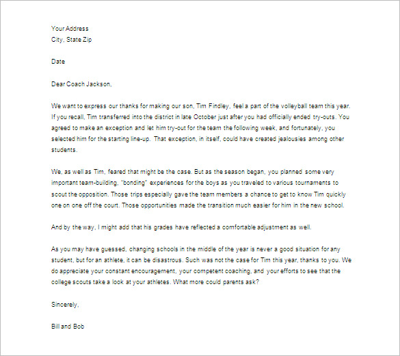 Thank you letter to teacher template business thank you letter to teacher thecheapjerseys Images