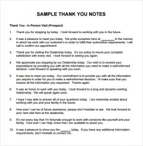 thank you note for gift thank you note for gift pdf
