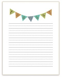 thank you note template thank you note template for kids