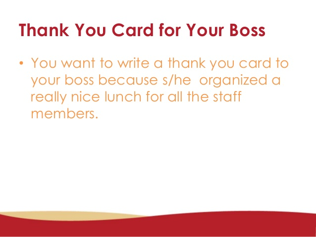 thank you note to boss for gift
