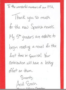 thank you note to preschool teacher template business
