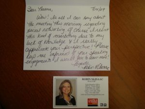 thank you note to realtor ar
