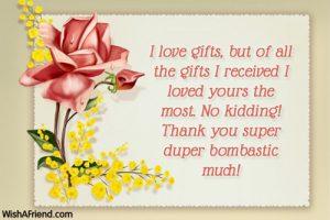 thank you notes for gifts thank you notes for gifts