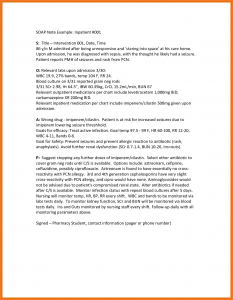 therapy notes template soap note example soap notes examples sample soap note example