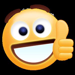 thumbs up emoji text
