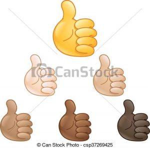 thumbs up emoji text thumbs up hand emoji illustration csp