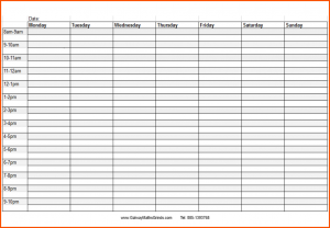 time scheduler template blank schedule template weekly time table
