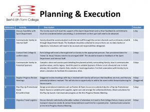 time schedules templates event planning example david greenslade
