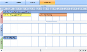 time scheduling template wpfcalendartimelineview