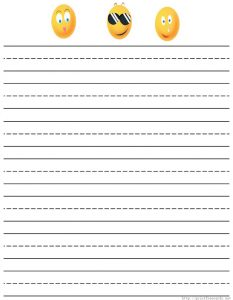 time sheets templates free printable lined writing paper kids