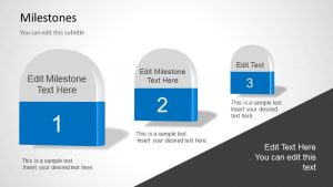 timeline for ppt milestones powerpoint