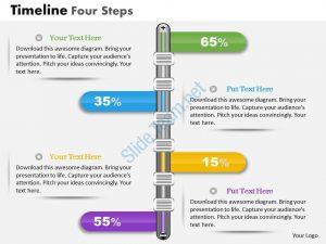 timeline template powerpoint business plan timeline four steps powerpoint presentation template slide