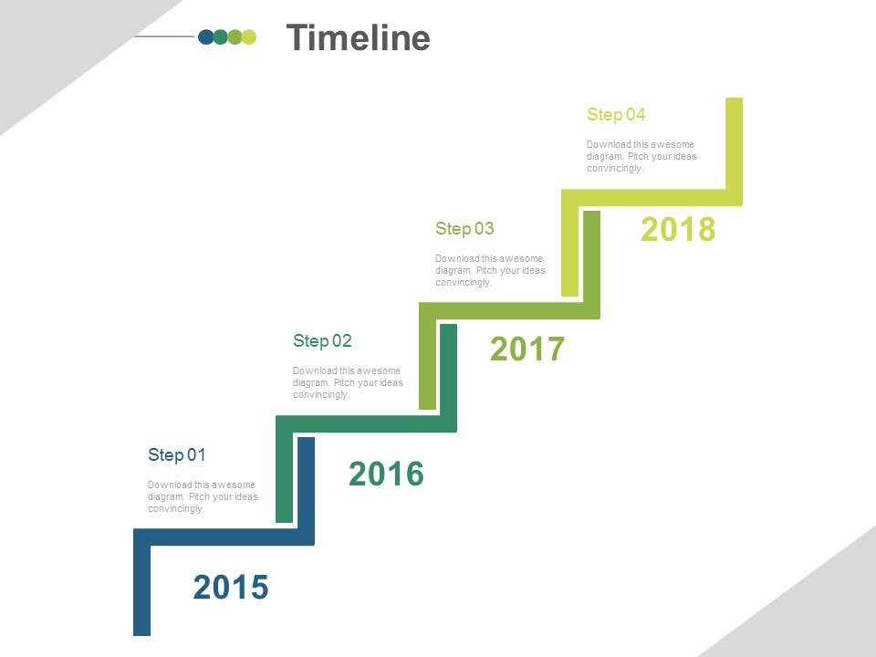 timeline template powerpoint template business