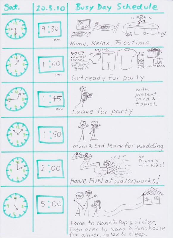 timeline templates for kids