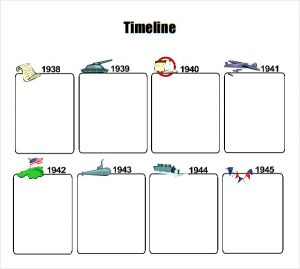 timelines for kids timeline template for kids pdf