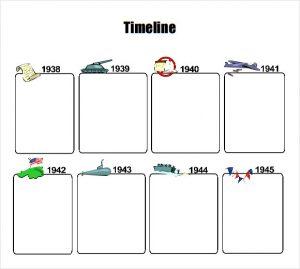timelines for kids timeline template for kids pdf