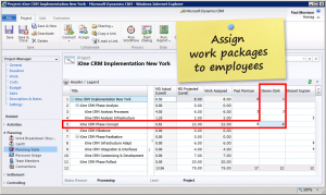 timesheet in excel assign work packages to employees
