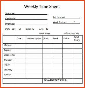 timesheet in excel timesheet template weekly timesheet printable