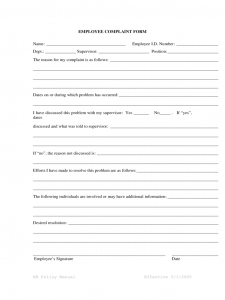 timesheet template free printable generic employee complaint form d