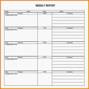 timesheet template word weekly report templates weekly report template pdf